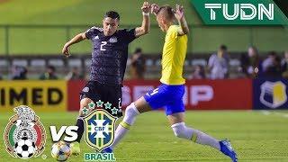 ¡El Tri aguanta como puede!  | México 0 - 0 Brasil | Mundial Brasil Sub-17  Final | TUDN