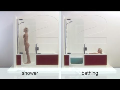 Artweger TWINLINE 2 Shower Bath