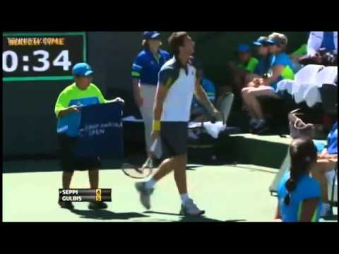 Ernest Gulbis Racket Smash Compilation
