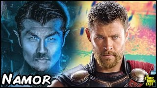 Namor in Thor Ragnarok Easter Egg Theory & Speculation