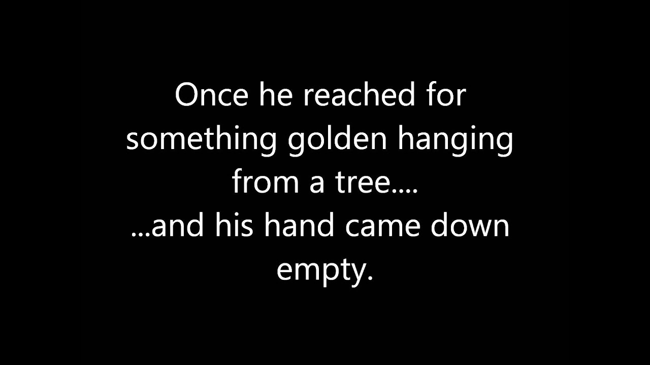 Tapestry by Carole King with lyrics onscreen