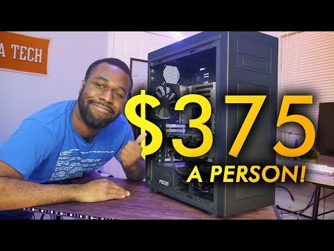 4 Gamers Playing On 1 PC... on a Budget?  Virtualized Gaming in 2019 (1/2) | OzTalksHW