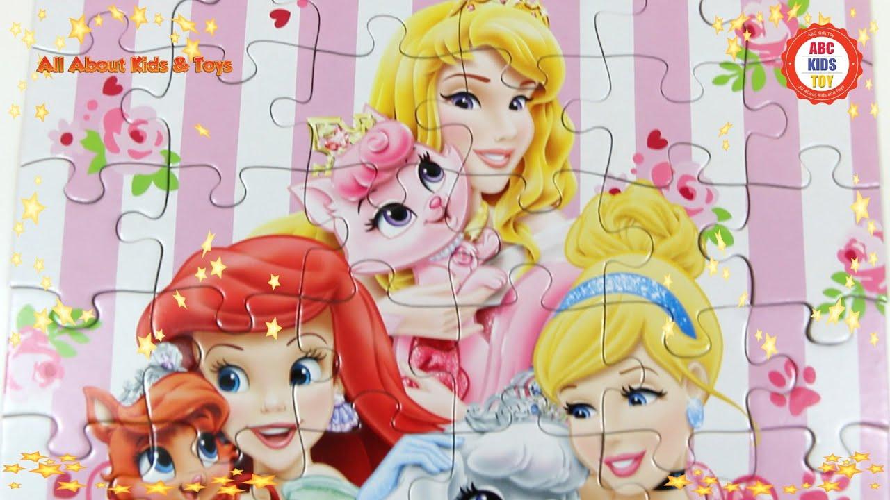 Palace Pets Disney Princess Art Game ABC Kids Toy Ariel Little