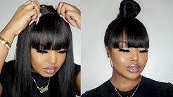 MUST HAVE! Lace Front Wig With Bangs  Protective Styles for beginners - MyFirstWig