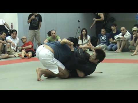 Jason Bukich vs Makoto Ogasawara 6th Taiwan BJJ & Grappling Tournament 2009
