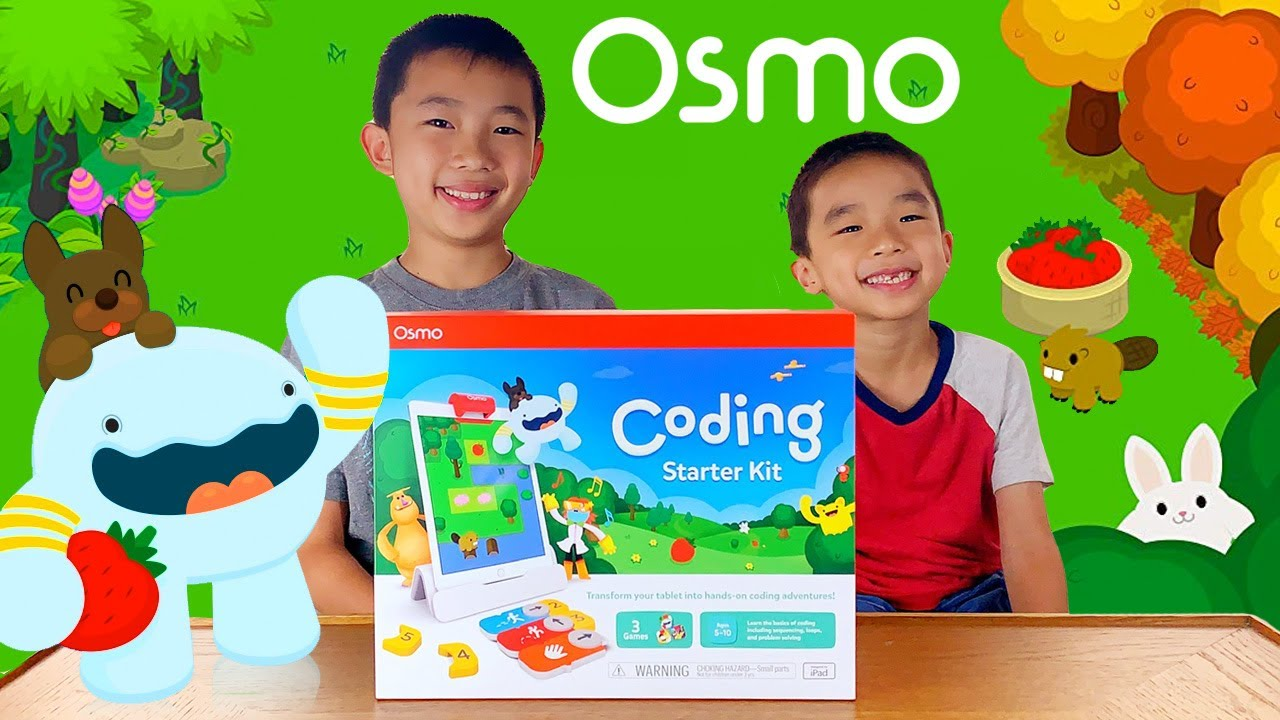OSMO Coding Starter Kit Unboxing, Demo & Review (Easy Coding for Kids)