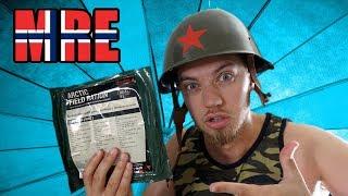 Norwegisches Militär Essen für 24h! | Was ist da drin? (meal ready to eat)