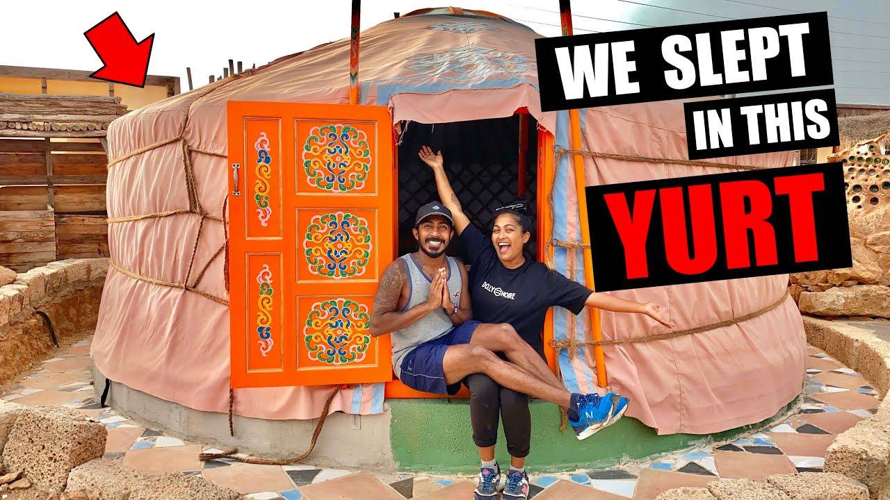 මේ කූඩාරම ඇතුලෙ හිතා ගන්න බැරි තරං ලස්සනයි | WE SLEPT IN THIS YURT | TenerifeHoursRescue | BINARIO12
