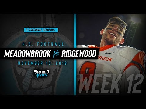 HS Football | Meadowbrook vs Ridgewood [PLAYOFFS] [11/10/18]