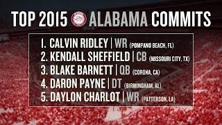 Alabama football recruiting 2015: early impact freshmen, recruiting class breakdown