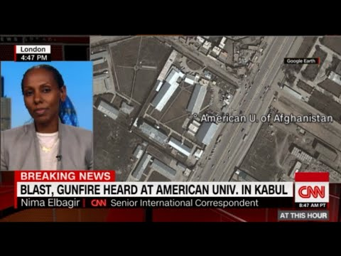 American University Under Attack in Kabul