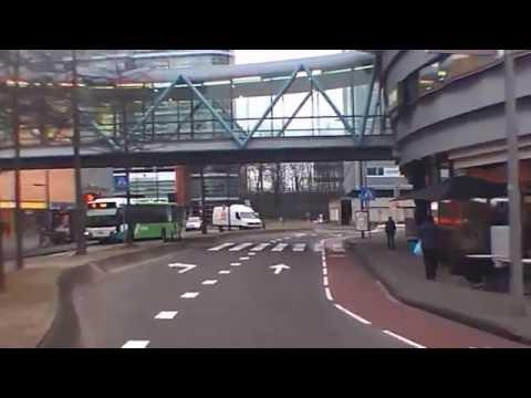 Holland:Rotterdam,Bus at Alexandrium Center