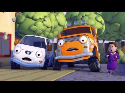 Олли Веселый грузовичок - Мультики про машинки - Олли - изобретатель - Серия 44 (Full HD)
