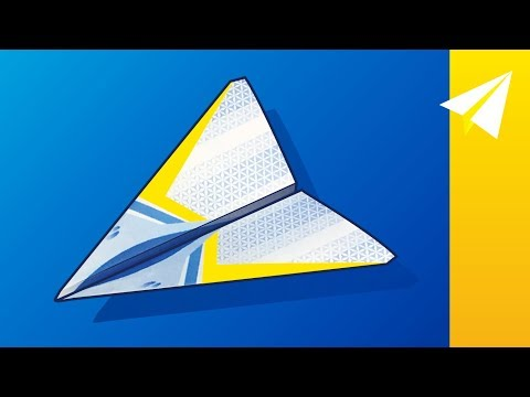 Paper Airplane with Free Template — How to Fold Stratus
