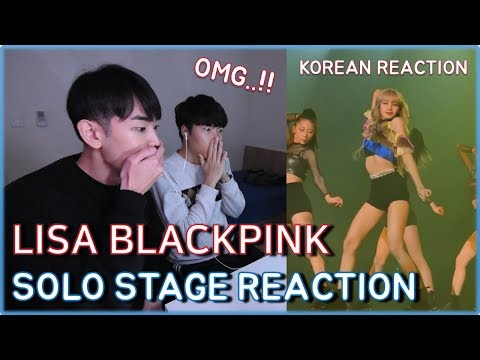 [BI/THAI] LISA Blackpink Solo Stage / Concert In Bangkok Thailand  2019 / BLACKPINK REACTION