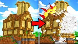 DEALER WYSADZIŁ MÓJ DOM | Minecraft Ferajna