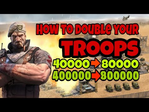 Double The Number Of  Your Troops ||  Important Tips And Tricks Of Last Empire War Z