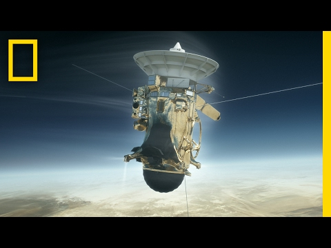 Crashing Into Saturn: This Cassini Mission Is the Most Epic Yet   Short Film Showcase