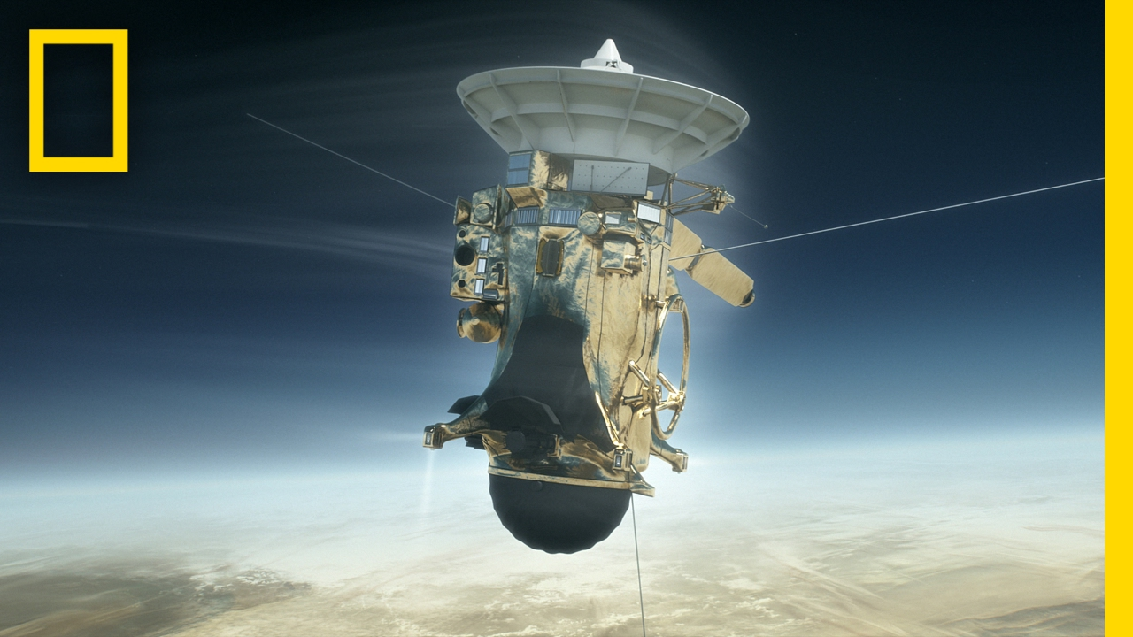 Cassini's 'Grand Finale' at Saturn Lands NASA an Emmy