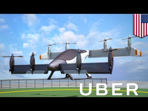 Uber flying cars: How Uber hopes to launch a fleet of self flying electric cabs by 2026 - TomoNews