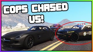 GTA 5 Roleplay - Store Robbery Police Chase | RedlineRP