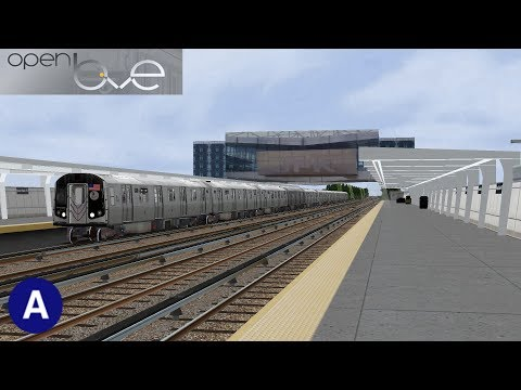 Openbve: R160 (A) Express to Far Rockaway | Expert Mode | Cab Ride