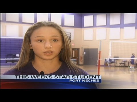 10/8/2013 Kaitlyn Boudreaux of Port Neches Middle School is our Star Student