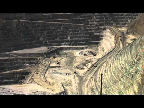 Kennecott Copper Mine Time Lapse From The Visitors Center 2