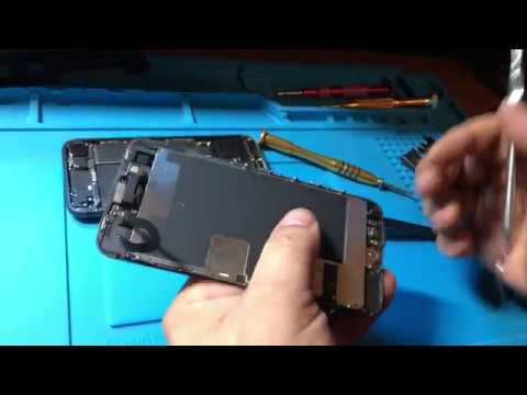 iPhone 8 Glass Only Repair on OCA film