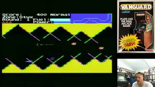 Five New Colecovision Homebrew Games Challenger, Vanguard, Hustle Chumy, Jet Ready & Jaw Breaker