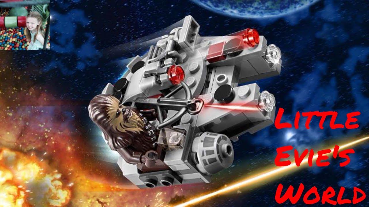 LEGO UK 75193 Star Wars Millennium Falcon Microfighter Toy