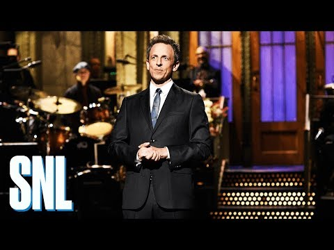 SNL | Season 44 Episode 3 | Seth Meyers