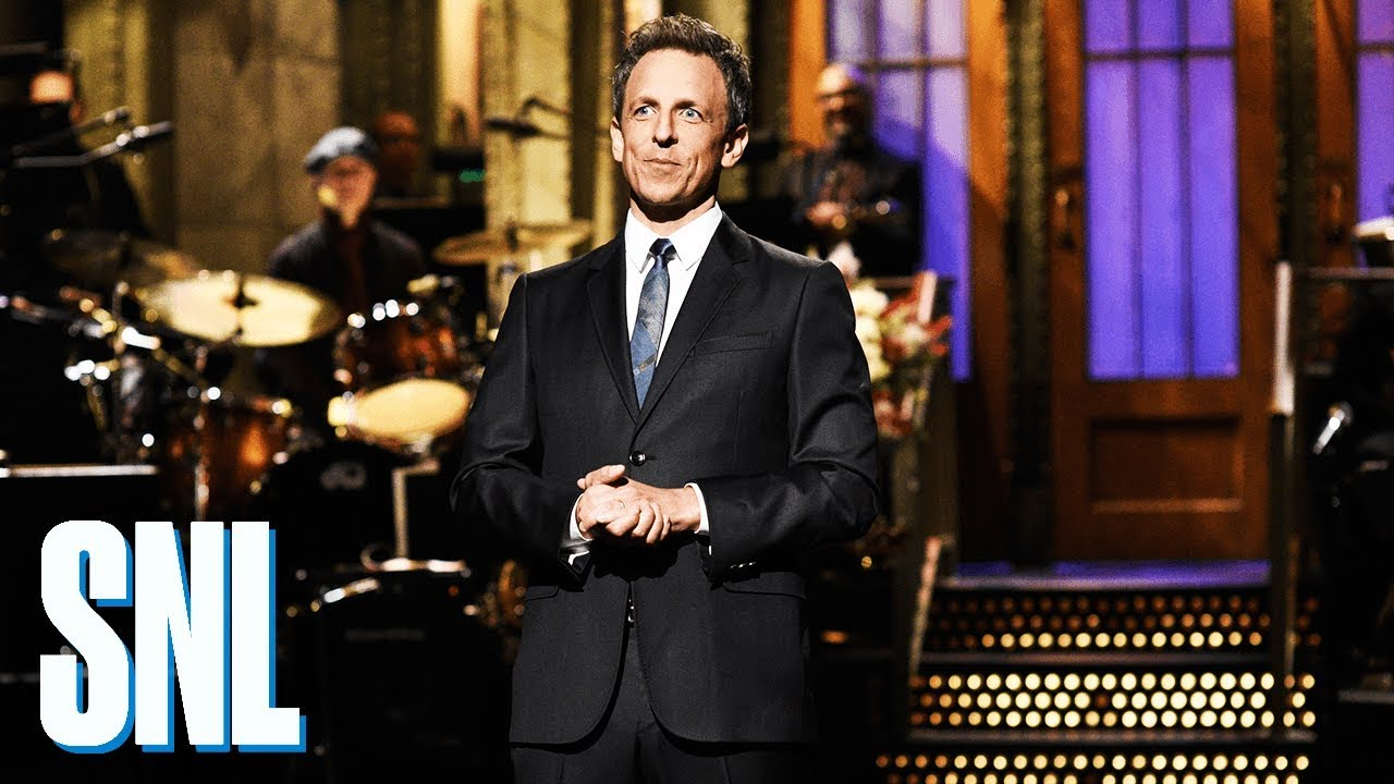 7caf058a 'Saturday Night Live' Recap: Seth Meyers Pays Homage to Amy Poehler