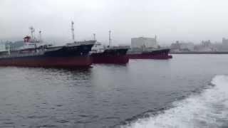 鼓海Ⅱから見る徳山港と馬島船着場 2014/06/28