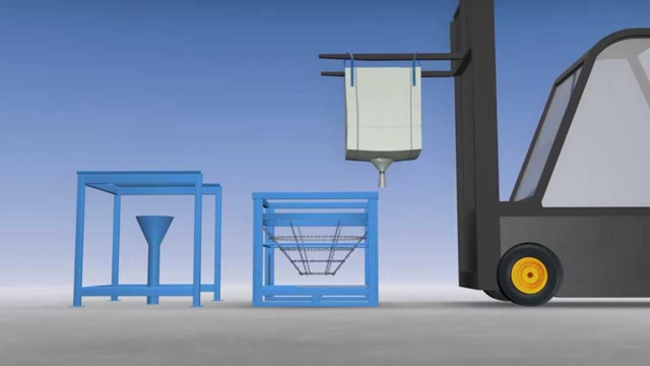 big bag teil entleersystem typ bbe von bigbagsystems youtube. Black Bedroom Furniture Sets. Home Design Ideas