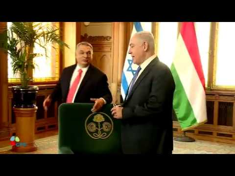 PM Netanyahu Meets Hungarian PM Orban