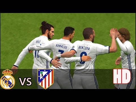 Real Madrid vs AT. Madrid