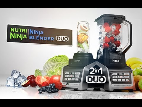 Nutri Ninja Blender Duo With Auto Iq Technology Youtube