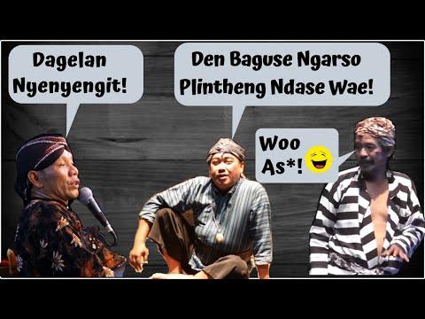 Gojekan Klasik Ki Seno Dengan Pelawak Jogja Den Baguse Ngarso Dan Gareng Rakasiwi
