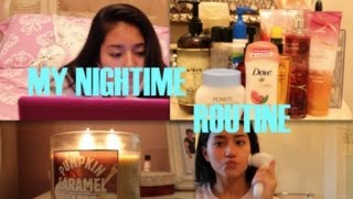 MY NIGHTIME ROUTINE