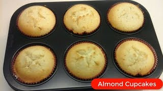 Almond Cupcakes Recipe l Quick & Easy Cupcake by Tasty Recipe