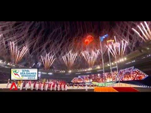 SEA Games Open in Myanmar