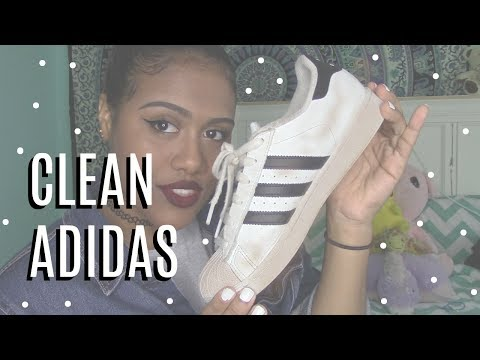 How To Clean Your Adidas Superstars|DIY Shoe Cleaner