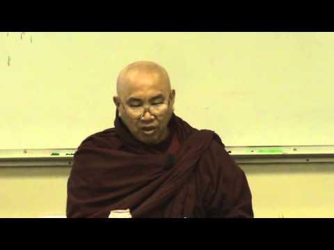 Jan 10, 2009 Visuddhimagga by Venerable Sayadaw U Jotalankara at TDS Dhamma Class