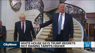 Trump suggests 2nd thoughts on China trade war