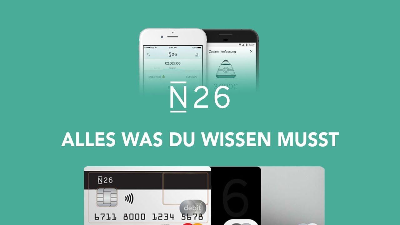e28046107ed13 N26 // Alles was du wissen musst | Das Große Tutorial (Deutsch ...