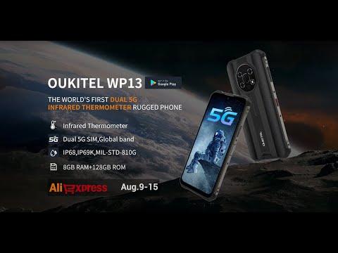 Explore The Ruggedness of OUKITEL WP13 5G Rugged Phone