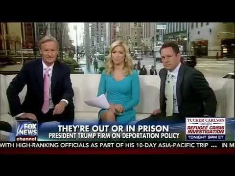 President Trump Full Interview with Ainsley Earhardt Fox & Friends April 18, 2017
