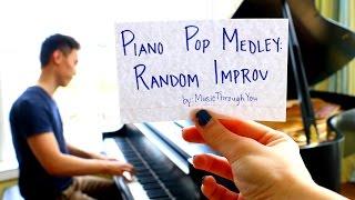 piano pop medley random improv by musicthroughyou
