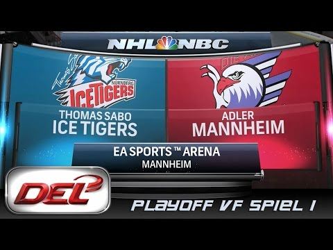 Deutsche Eishockey Liga [DEL] #052 - Adler Mannheim - Thomas Sabo Ice Tigers (Playoff VF)